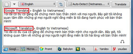 [Software] - QTranslate is a free translator support by many translation services 5