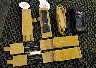 TAS Tactical Assault Systems Multi-tool pouches in Wheat color
