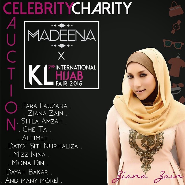 Celebrity Celebrity Auction Ziana Zain