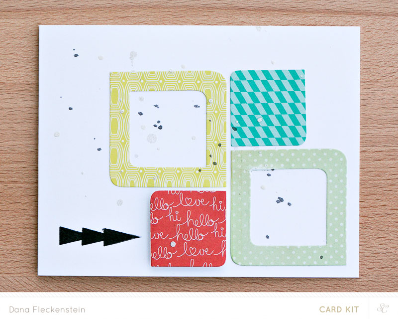 Studio Calico Hello, hello Kit card by @pixnglue