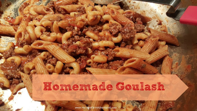 Homemade Goulash