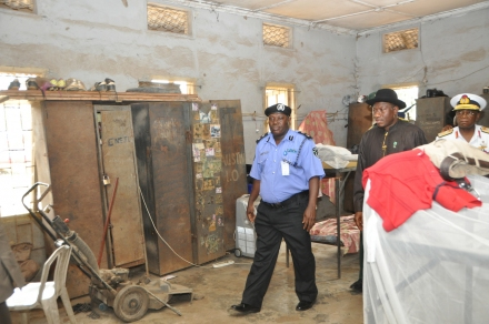 President Jonathan Surprise Visit To The Police College, Ikeja