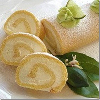 VANILLA ROLL CAKE (Brasil)
