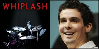 Whiplash written by Damien Chazelle, nominated for Best Adapted Screenplay Academy Award