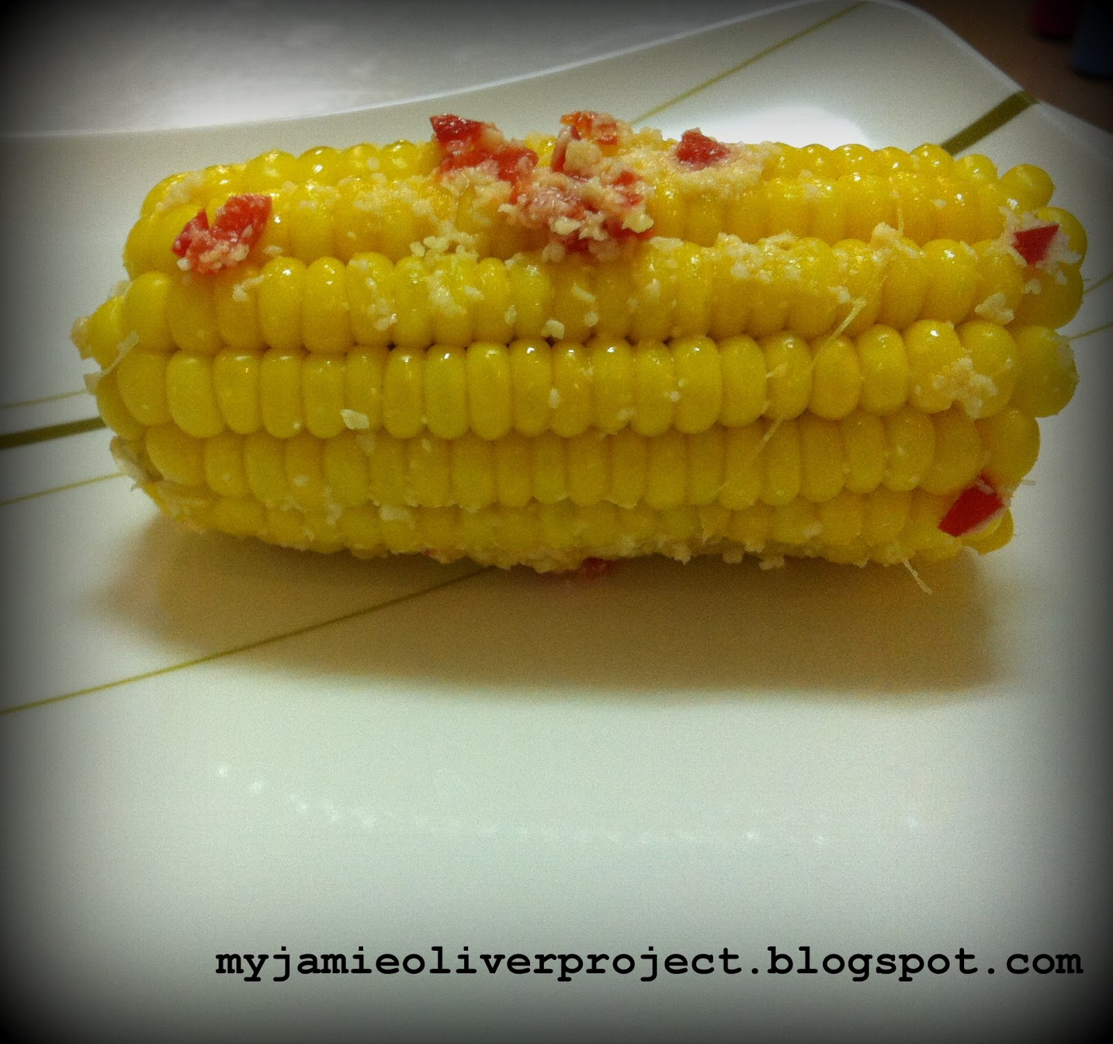 My attempt to cook 100 jamie olivers recipes attempt 15 overall cant go wrong with corn on cob ccuart Gallery