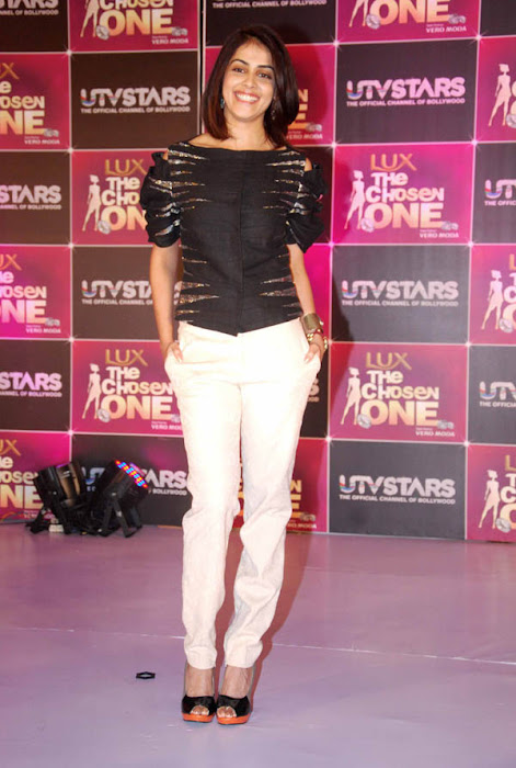 genelia at the launch of utv stars the chosen one actress pics