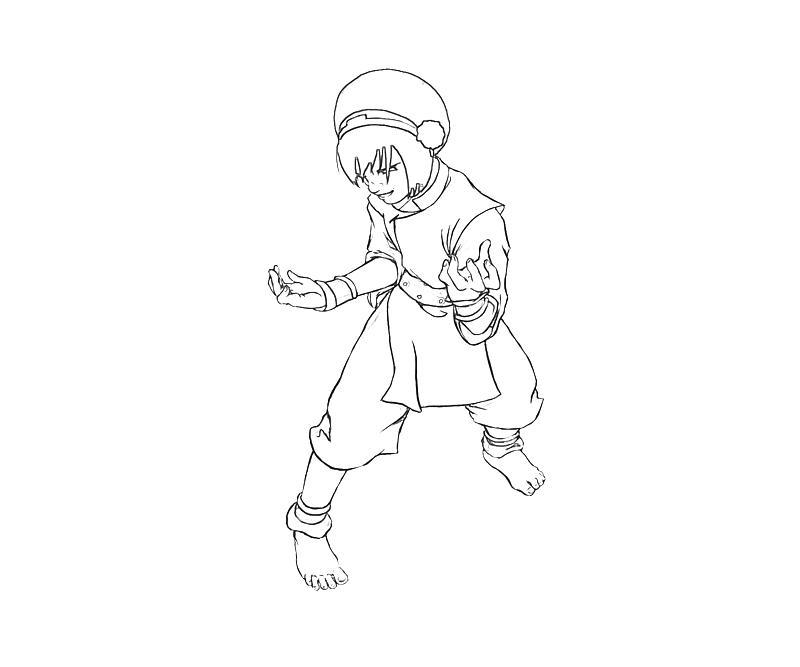 printable-avatar-toph-action-coloring-pages