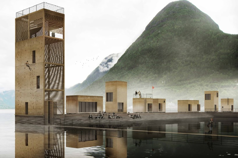 Atelier rue verte le blog h tel ambulant norv gien for Design hotel lizum 1600