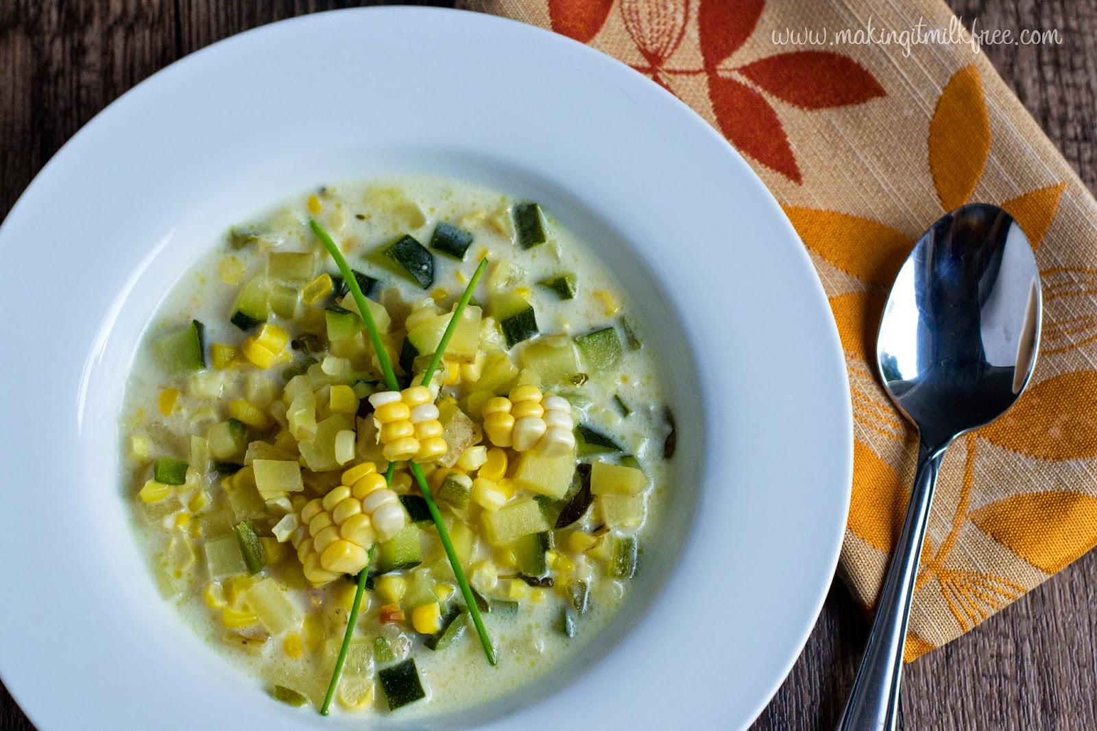 #glutenfree #vegan #chowder #dairyfree #summerrecipes