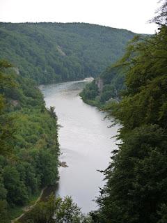 Donaudurchbruch zwischen Weltenburg und Kelheim