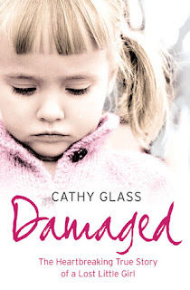 cover of damaged by cathly glass