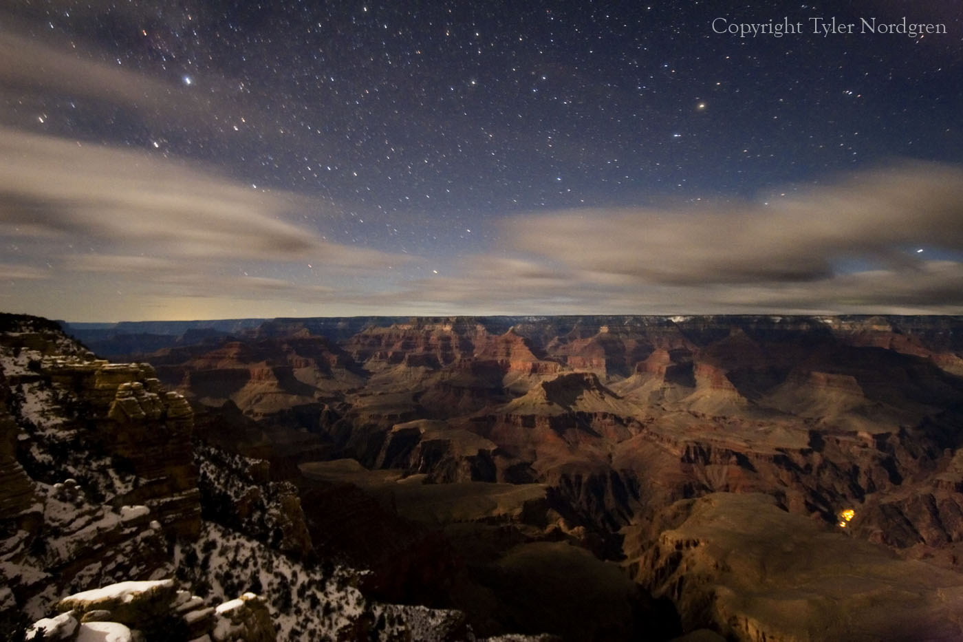 Encyclopedia: Grand Canyon at Night