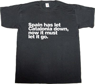 spain is different catalonia catalan independence freedom referendum 11 septembre 11S t-shirt ephemeral-t-shirts