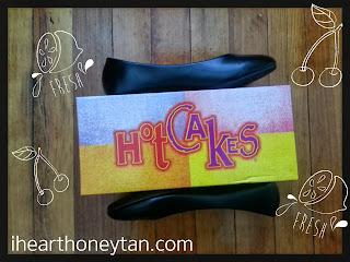 Black flats by Hotcakes