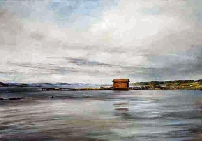 Норвежский художник. Jonny Andvik