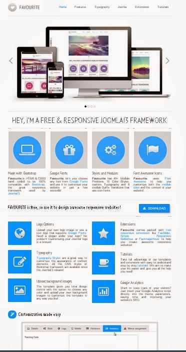 template joomla responsif gratis