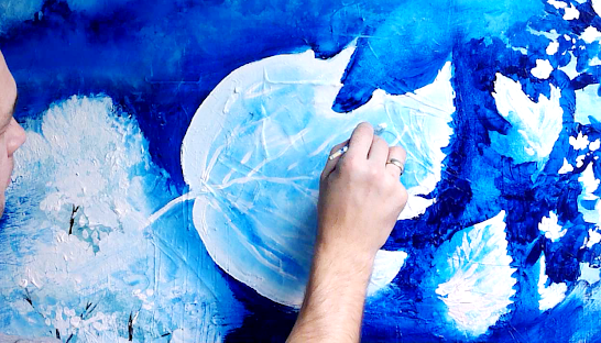 Amazing abstract painting techniques