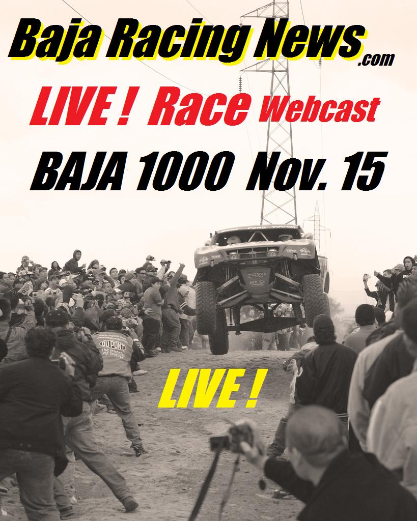 Raceday baja 1000 poster