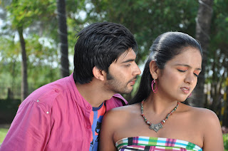 Oduthalam movie spicy movie stills with Rubica romancing hero