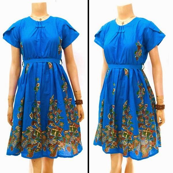 Dress Batik Chibi-Chibi