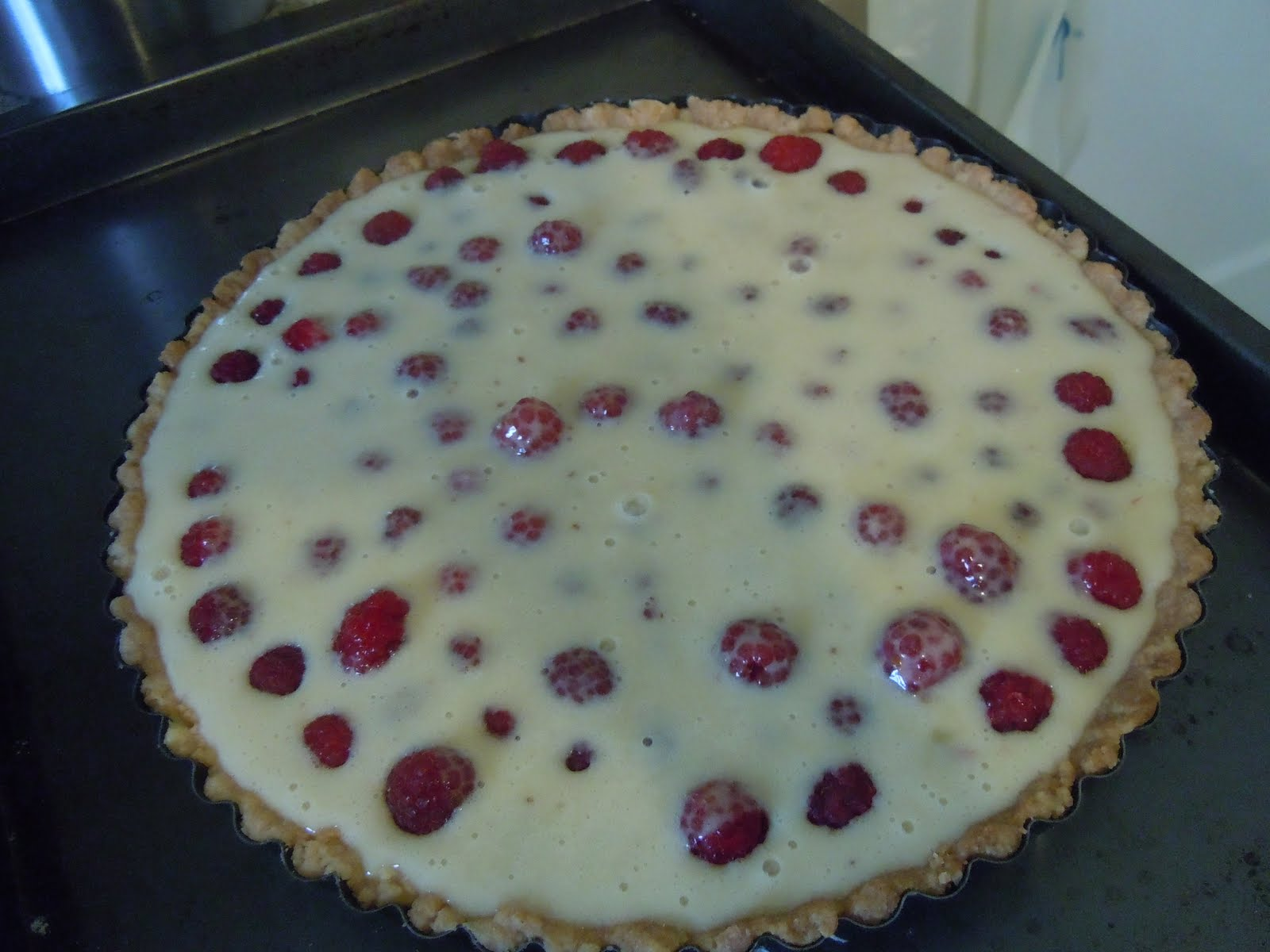 The Clean Plate Club: Brown Butter Raspberry Tart