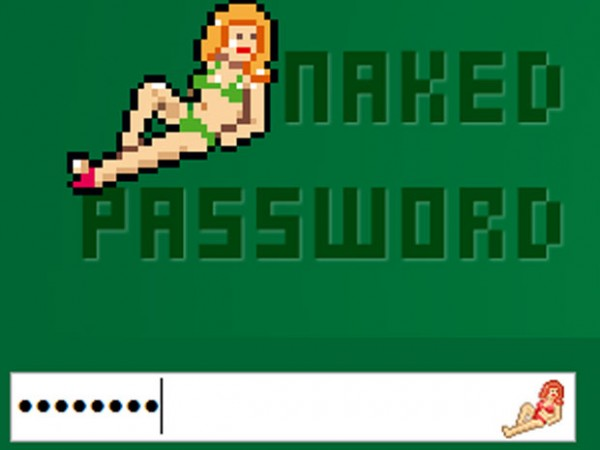 naked password
