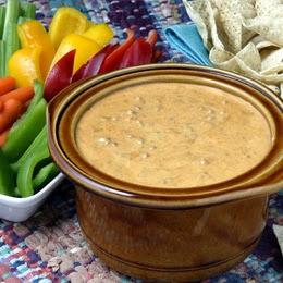 Slow Cooker Chili Con Queso Cheese Dip Recipe