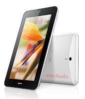 Harga Tablet Huawei MediaPad 7 Vogue Spesifikasi Prosesor Quad-core