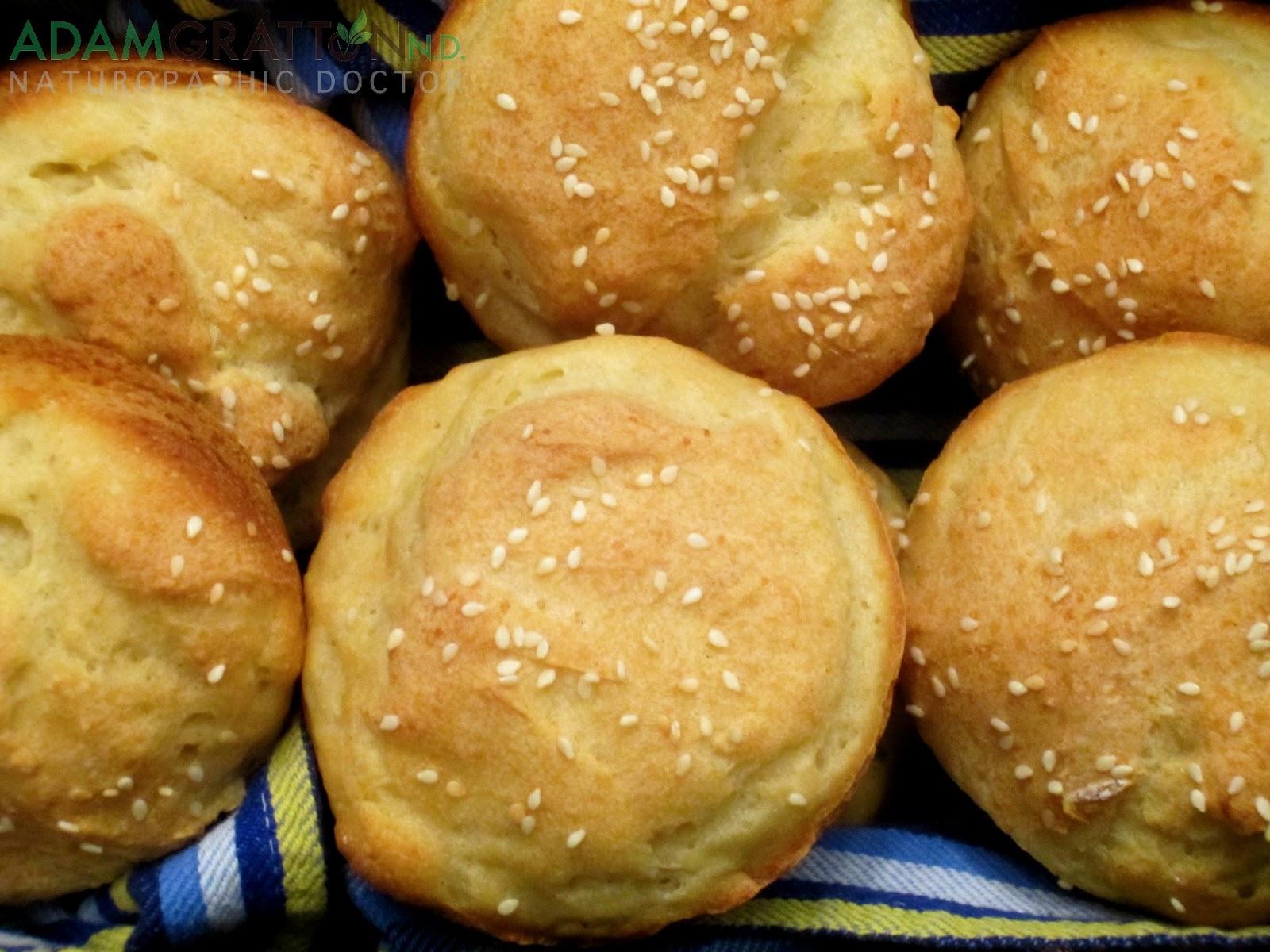 Recipe - Gluten Free Hamburger Buns | adamgrattonND