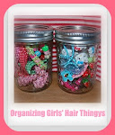 Organizing Girls' Hair Thingys