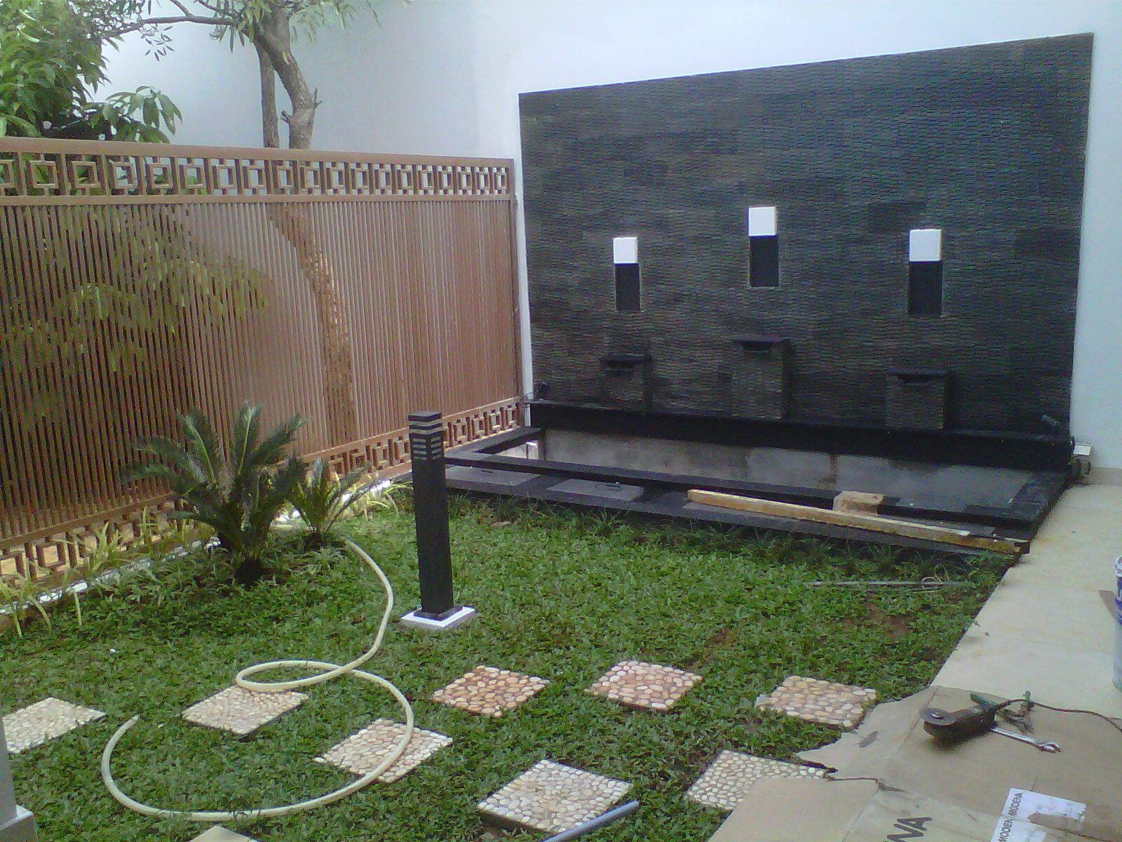 Kolam Minimalis Kolam Air Mancur Kolam Relief Tukang