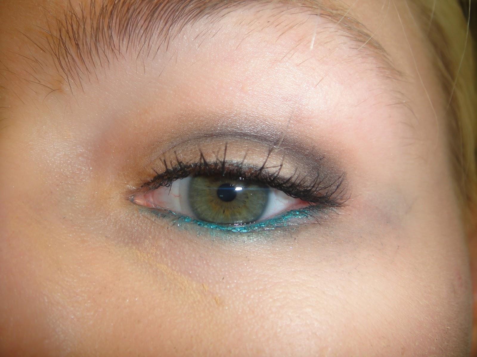 uk skins effy eye makeup, maybelline color tattoo eye look, effly skins color tattoo, maybelline