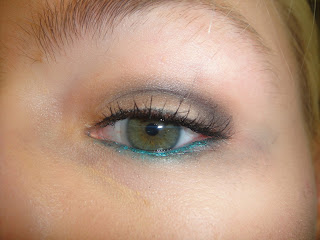 uk skins effy eye makeup, maybelline color tattoo eye look, effly skins color tattoo, maybelline