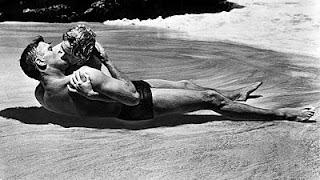 Burt Lancastere e Débora Kerr em A um passo da eternidade!