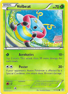 Volbeat Primal Clash Pokemon Card