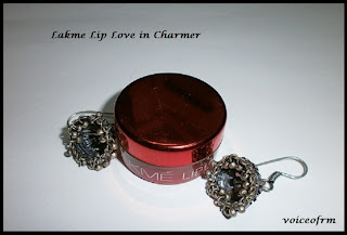 Lakme Lip Love Conditioner in Charmer Review, Swatch and LOTD