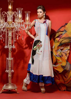 Hadiqa Kiani Kamlee Summer Eid Collection 2013-2014
