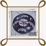 Arte com disco de vinil