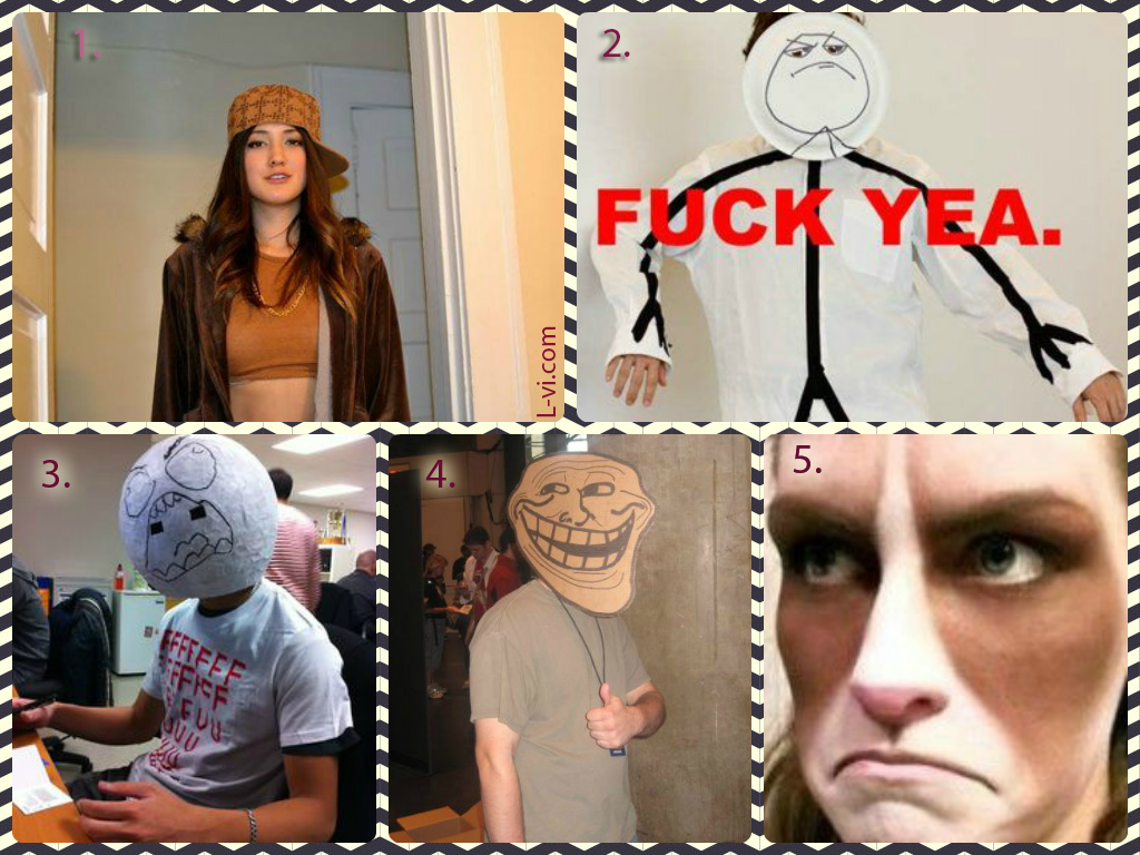 Meme Inspired Costumes Halloween 2014 L-vi.com