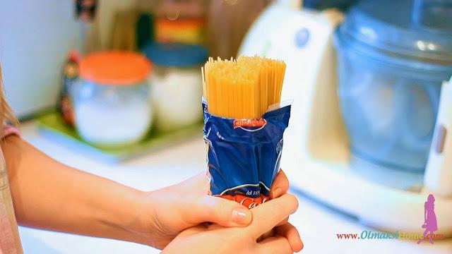 Быстро открыть спагетти
