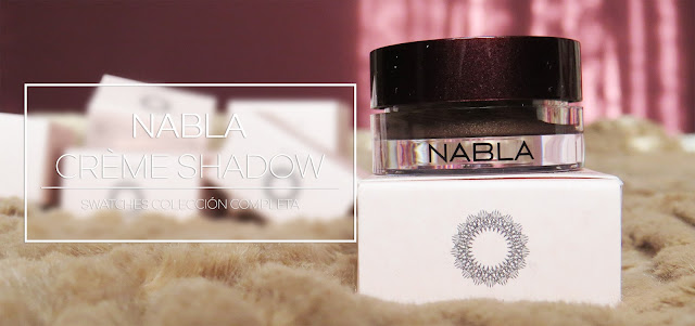 NABLA CREAM SHADOWS SWATCHES