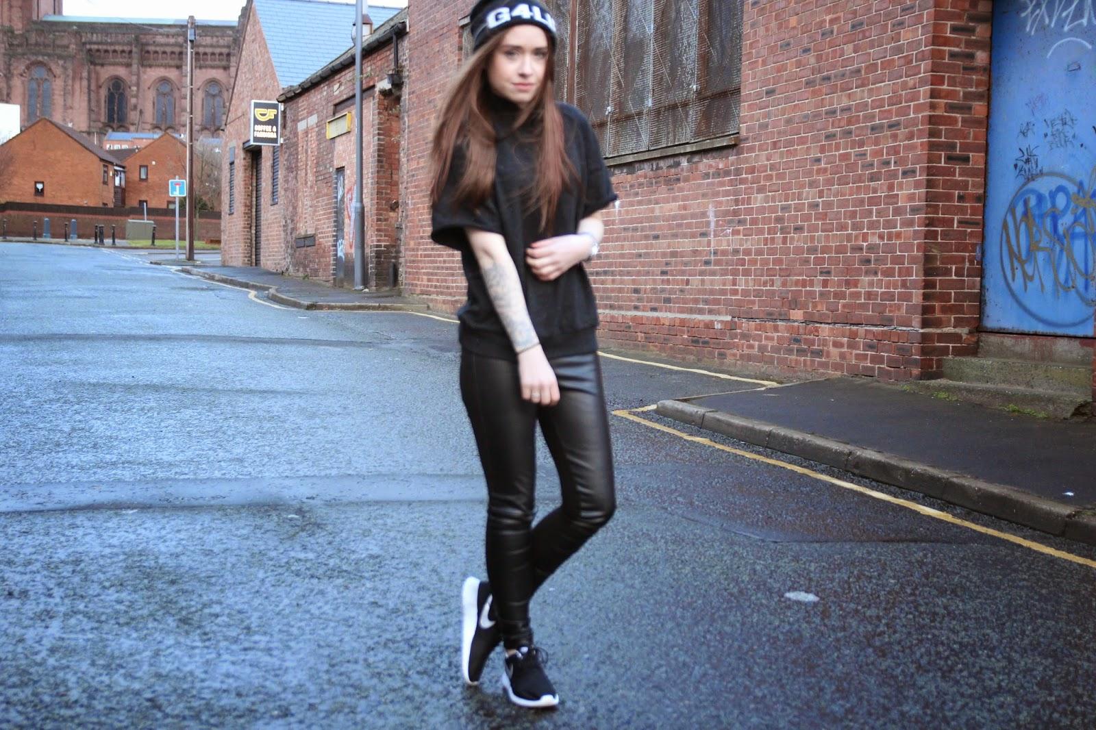 urban style, street style, fashion, fashion blogger, fblogger, monochrome.