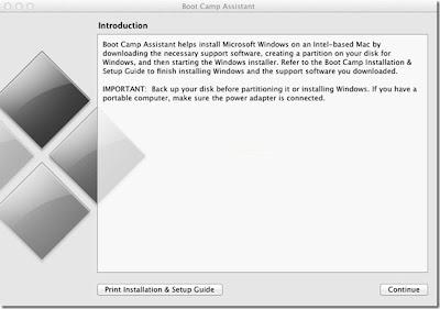 windows 8, instalar, MAC pc, Boot Camp Assistant