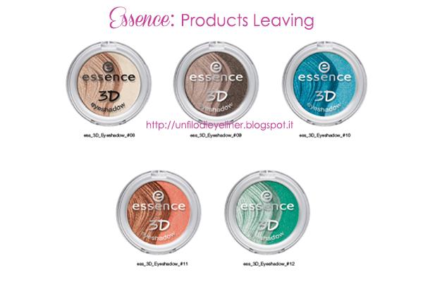 Essence: Product Leaving 2014 (prodotti fuori produzione da Agosto)