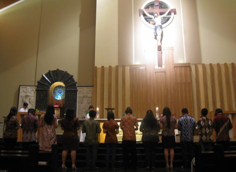 Contoh Teks Pelantikan Pengurus OMK Paroki