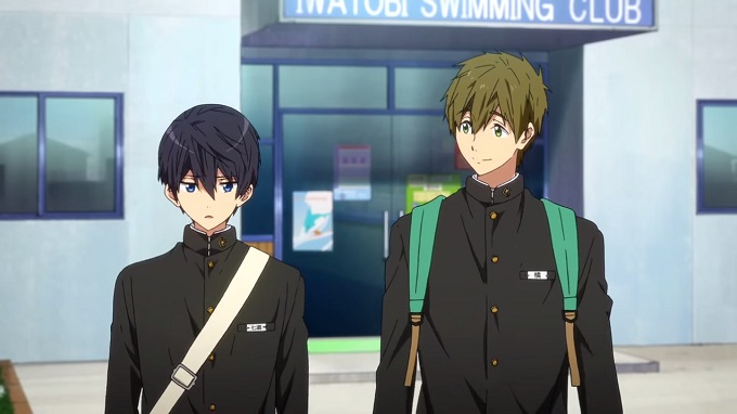 High Speed!: Free! Starting Days anuncio