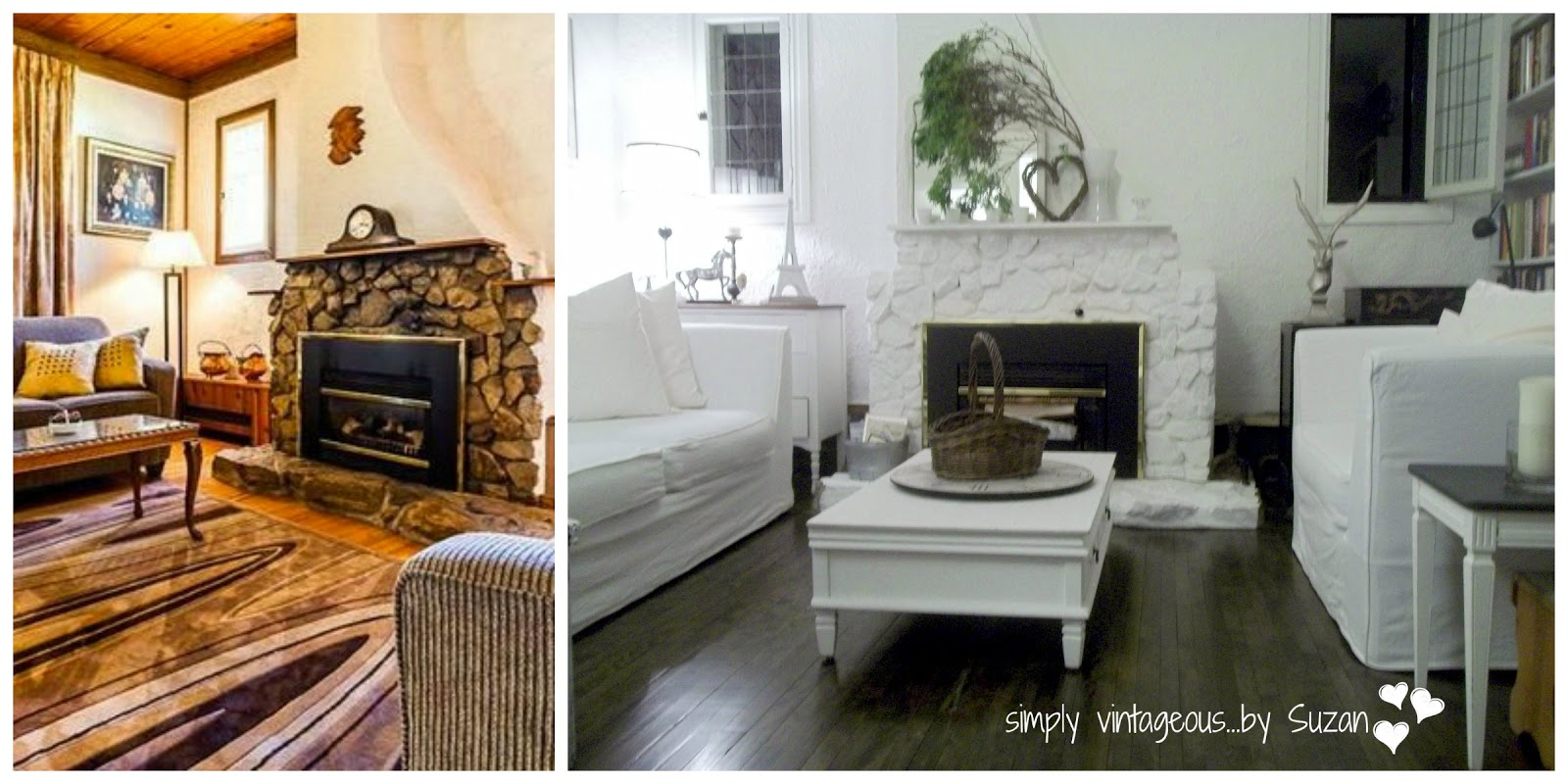 creating an all white living room