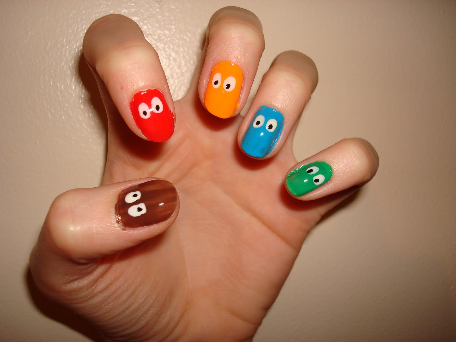 best trend fashion 2012: Project Nail Art: Crazy Eyes
