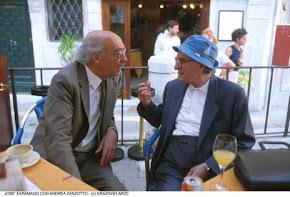 JOSE' MARANGO (premio Nobel) E ANDREA ZANZOTTO
