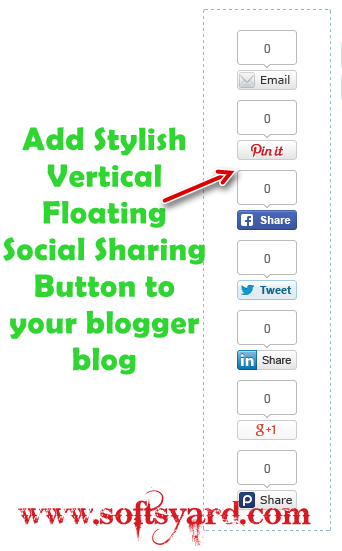 Add stylish floating vertical social sharing widget to your blog.png